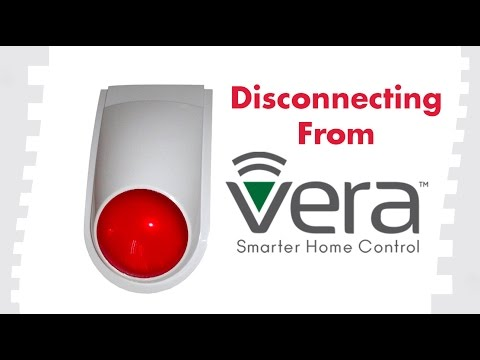 How to Disconnect From Vera: FortrezZ Outdoor Siren Alarm