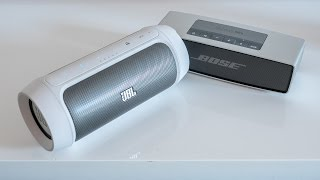 JBL Charge 2 vs. Bose Soundlink Mini - sound comparison