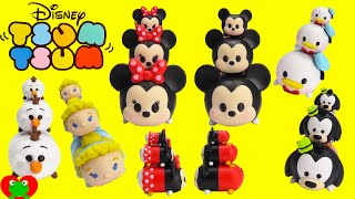 getlinkyoutube.com-Disney Tsum Tsum Collectible Stackable Figures Mickey, Minnie, and More
