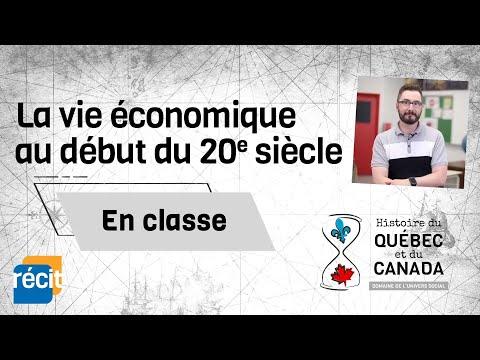 La vie économique au début du 20e siècle