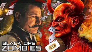 getlinkyoutube.com-Black Ops 3 Zombies | The Magician's HUGE SECRET! / Made Deal with DEVIL! (Shadows of Evil Story)