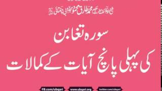 Surah Tughaban Ki Pehli 5 Ayat Hakeem Tariq Mehmood
