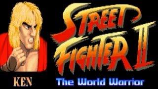 getlinkyoutube.com-Street Fighter II - The World Warrior - Ken (Arcade)