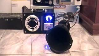 getlinkyoutube.com-mini caixa de som com corneta de carro yp-57