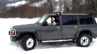 getlinkyoutube.com-Nissan Patrol GR Y60 4x4 Зима 2012. Выходной.