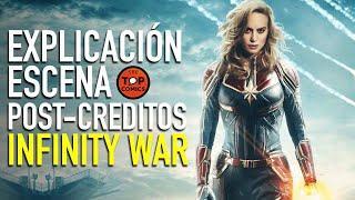 ¿Quién es Captain Marvel? Explicación escena post-creditos Infinity War