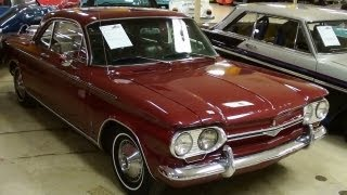 Turbocharged 1964 Chevrolet Corvair Monza Spyder