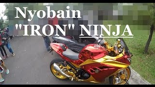 getlinkyoutube.com-#NGERASAIN 'IRON' NINJA 250