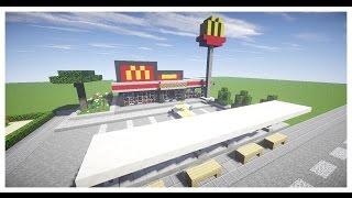 getlinkyoutube.com-Minecraft : สร้างร้านแมคโดนัลด์ 1.8(3) - Rivth28