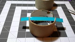 DIY Tripod Tutorial from empty Duck Tape Rolls.