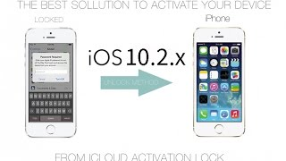 Remove iCloud on IOS 10.2 activated Iphone