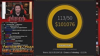 getlinkyoutube.com-BIGGEST CS GO JACKPOT EVER ► $100 000 CSGOSHUFFLE POT ► WITH PHANTOML0RD