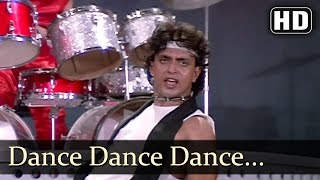 getlinkyoutube.com-Dance Dance - Dance Dance Is Life - Mithun Chakraborty - Bappi Lahiri Hits