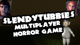 getlinkyoutube.com-[HORROR] Slendytubbies Multiplayer ft. Joel (dual facecam action)