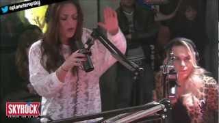Léa Castel - Garde à vue (Live Skyrock) (ft. Ladéa)