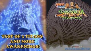 getlinkyoutube.com-Two Titan Awakenings? Let's Try It! Naruto Shippuden Ultimate Ninja Storm Revolution