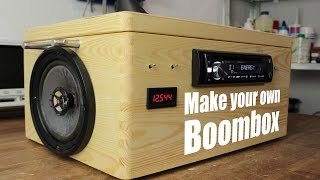getlinkyoutube.com-Make your own Boombox