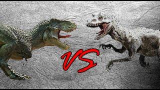 getlinkyoutube.com-Vastatosaurus Rex vs Indominus Rex