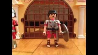 getlinkyoutube.com-Playmobil Rome (gr) my third movie