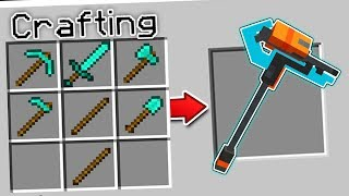 CRAFTING THE ULTIMATE MINECRAFT WEAPON?!