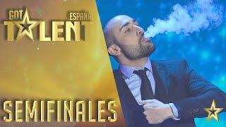 Iván Ojeda derrocha talento y magia | Semifinales 2 | Got Talent España 2016