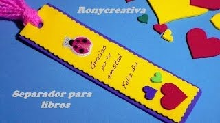 getlinkyoutube.com-COMO HACER UN UTIL SEPARADOR DE LIBROS/ BOOK  GIFT DIY