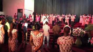New Lord Kenya ministering at Family Praise Concert CEM Acc