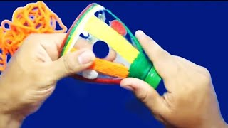 getlinkyoutube.com-Como hacer recipientes de plástico para fiestas