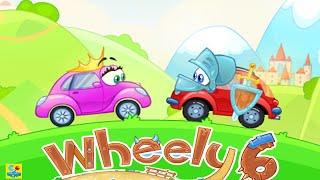 getlinkyoutube.com-Wheely 6 Fairytale Walkthrough All Levels 1 - 14
