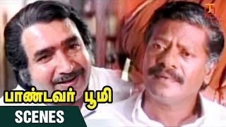 Pandavar Bhoomi Movie Scenes   Rajkiran meets Vijayakumar   Arun Vijay   Rajkiran   Thamizh Padam