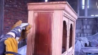 getlinkyoutube.com-Czyszczenie mebli drewnianych - Sodowanie / Piaskowanie