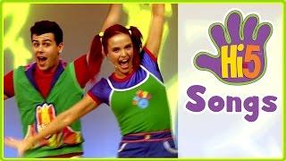 getlinkyoutube.com-Hi-5 Songs   Move Your Body & More Kids Songs   Hi5 House Songs