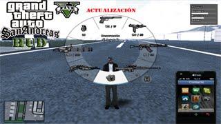 getlinkyoutube.com-GTA San Andreas - Descargar e instalar el Hud GTA V Avanzado (Actualización 2 + Español)