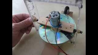 getlinkyoutube.com-Self Balancing Gyroscope on Two Inline Wheels