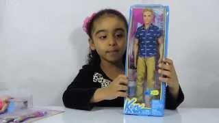 getlinkyoutube.com-Barbie Sereia e Ken - Brincando de Barbie e Ken Unboxing Review Kids Toys