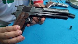 getlinkyoutube.com-Pistola Mexicana Obregon, Vista de Cerca y Detallada en Español