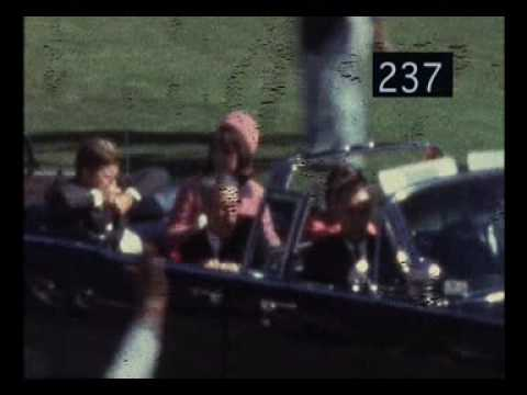 NWO - Assassination - Kennedy - Zapruder Film - CIAs Driver William Greer's Murder Of JFK - Slow Motion Numbered Frames -NsM3H4dHdYw