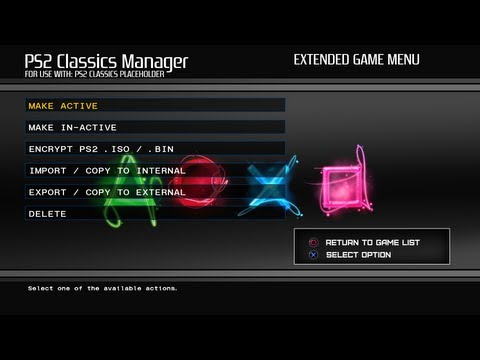 Convert PS2 iso on PS3