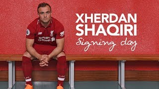 Shaqiris-first-day-at-LFC-Exclusive-behind-the-scenes-access width=