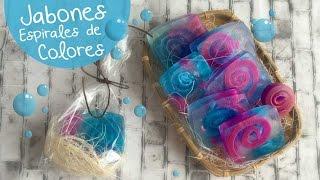 getlinkyoutube.com-Jabones Espiral :: Cómo hacer Jabones DIY Soap :: Chuladas Creativas