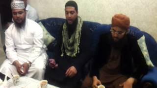 Maulana Ahmad with Sajid Qadri Tere Aastaan ki Ulfat.