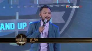 getlinkyoutube.com-Wira: Kisah Cinta yang Terfasilitasi (SUPER Stand Up Seru eps 230)