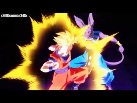 Dragon Ball Z Battle of Gods - Goku vs Bills HD 720p
