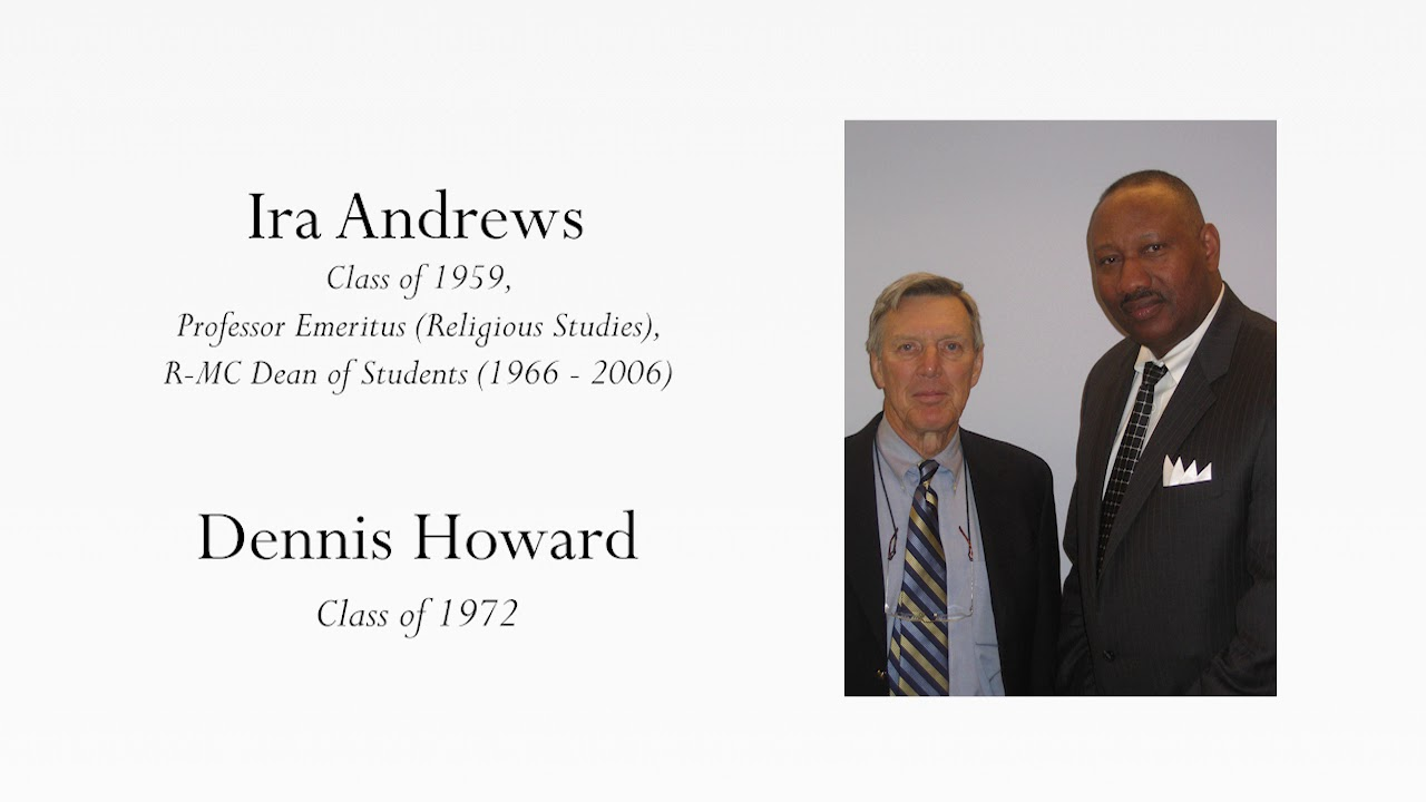 Ira Andrews and Dennis Howard