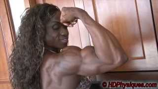 getlinkyoutube.com-ENORMOUS Female Muscle - Best hamstrings ever!