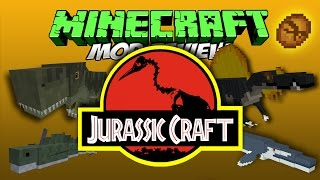 getlinkyoutube.com-MINECRAFT MOD DINOSAURIOS  - JURASSICRAFT MOD MINECRAFT 1.9 Y 1.7.10 REVIEW ESPAÑOL