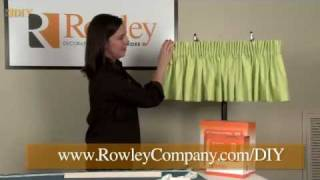 getlinkyoutube.com-DIY -- Easy Pencil Pleat Valance