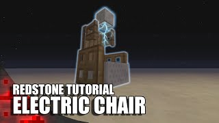 getlinkyoutube.com-Minecraft: Working Electric Chair (Griefers Beware!)