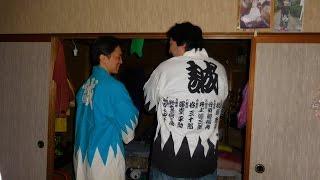 getlinkyoutube.com-Japoneses bucan Novia Latina ! Oso y Okura  chile verde en Japon