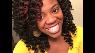 getlinkyoutube.com-Crochet Braids Cut & Curled